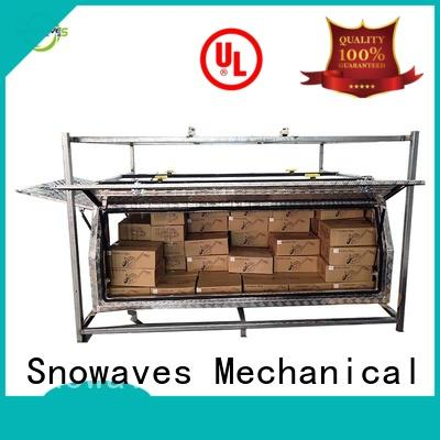 Snowaves Mechanical Top aluminum trailer tool box company for picnics
