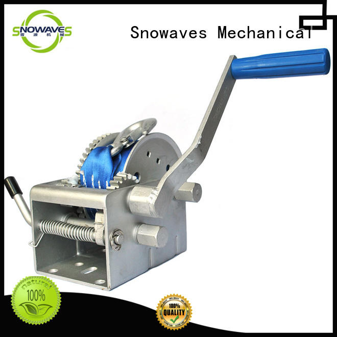 single electric boat winch pulling for trips Snowaves Mechanical