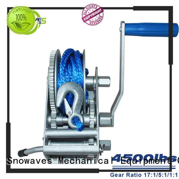 Snowaves Mechanical Best Marine winch Suppliers for picnics