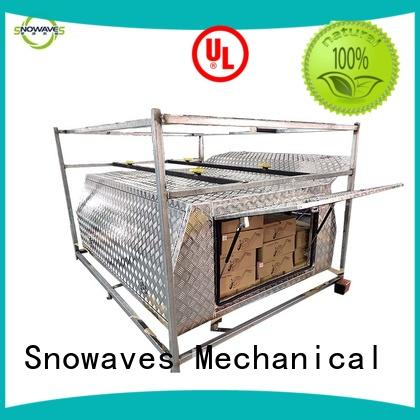 Snowaves Mechanical Custom aluminum truck tool boxes factory for picnics