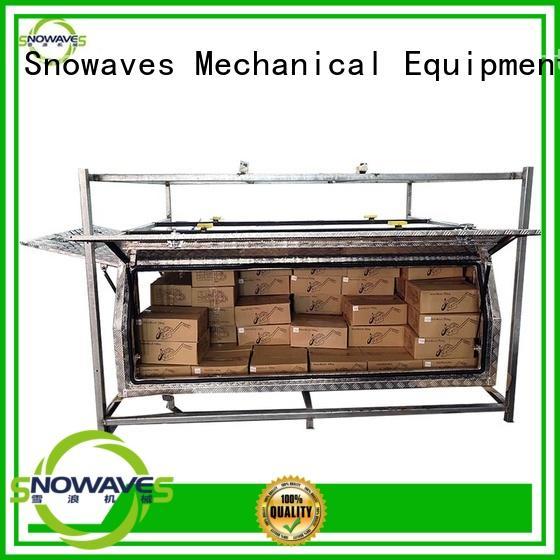Snowaves Mechanical truck aluminium tool box for wholesale for boat