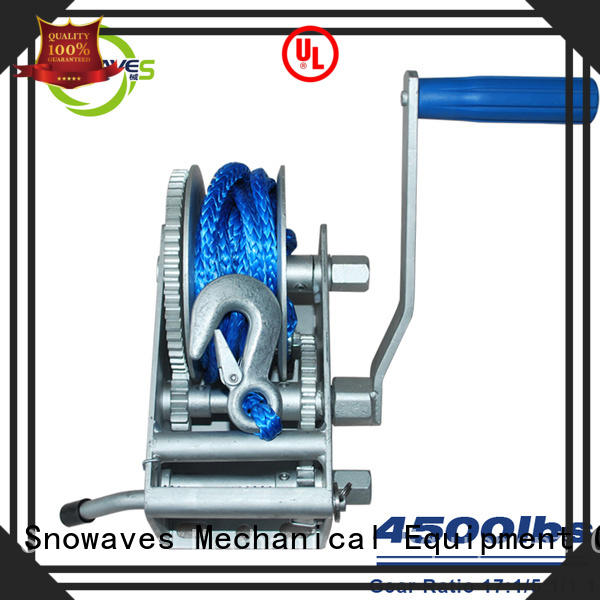 speed Marine winch for camping