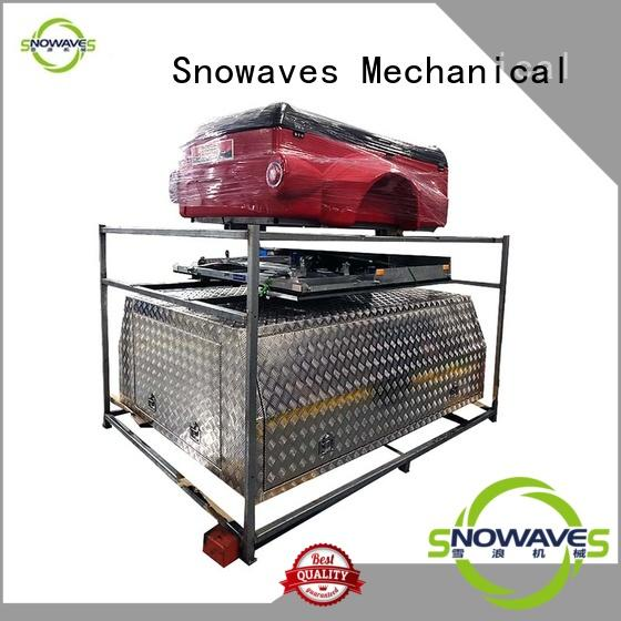 Snowaves Mechanical truck aluminium tool box company for camping