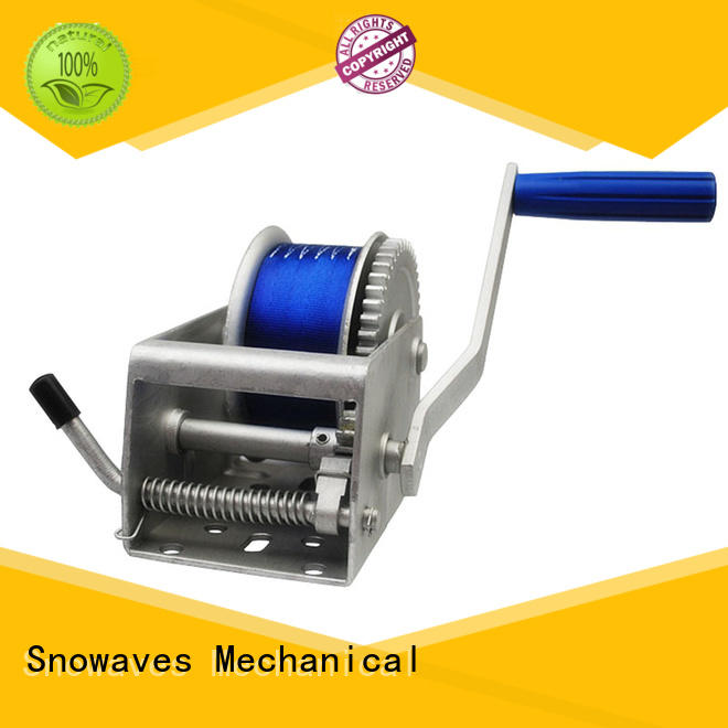 Snowaves Mechanical High-quality marine winch factory for one-way trips