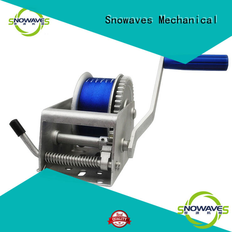 Snowaves Mechanical pulling Marine winch Suppliers for one-way trips