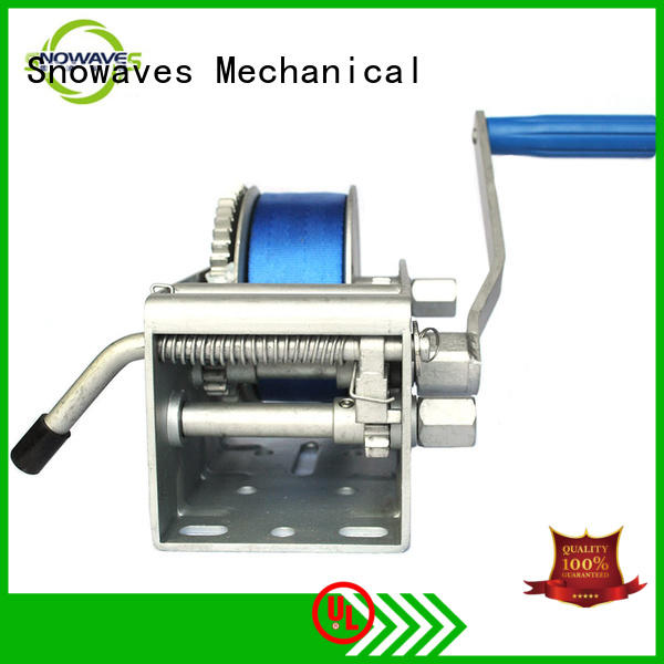 single Marine winch wholesale supplier for camp