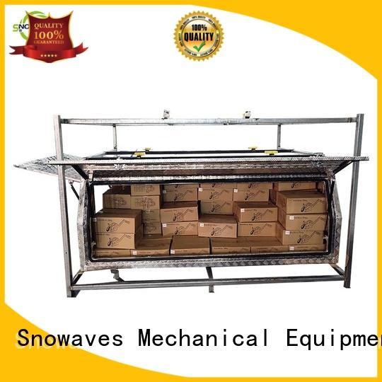 Custom aluminum trailer tool box boxes Supply for picnics