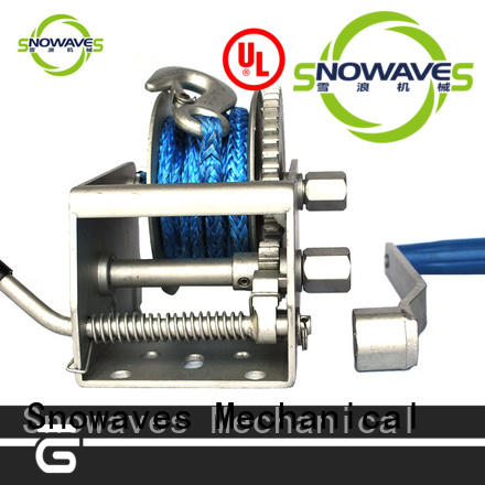 pulling Marine winch long-term-use for camping Snowaves Mechanical