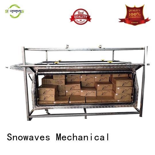 Snowaves Mechanical aluminium aluminium tool box for business for camping
