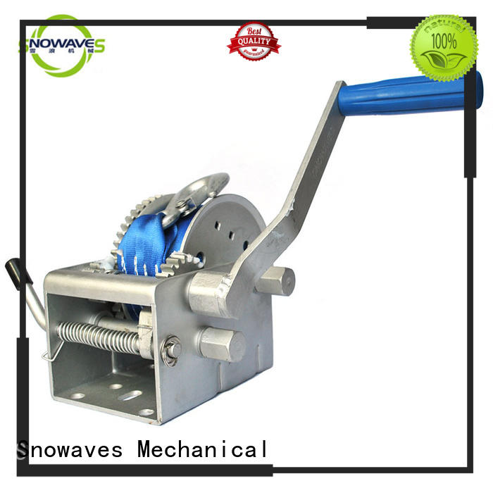 Snowaves Mechanical trailer anchor winch for sale with certification for camping