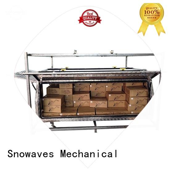 Snowaves Mechanical Custom aluminum truck tool boxes manufacturers for car