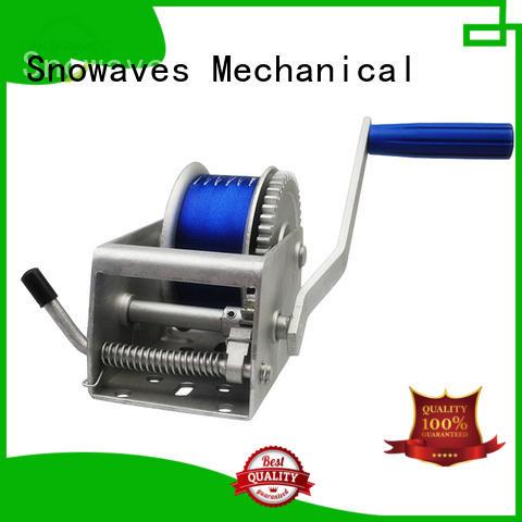 Trailer hand winch 5:1 (single speed) 2000kg pulling SW1500