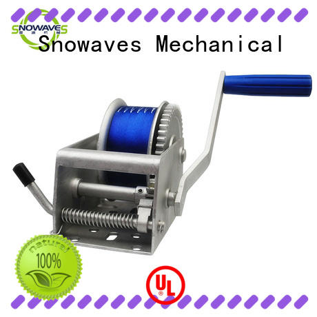 Marine winch long-term-use for camp Snowaves Mechanical