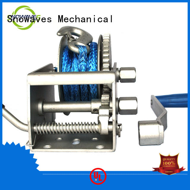Snowaves Mechanical winch Marine winch factory for picnics
