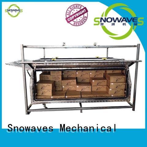 Snowaves Mechanical Custom aluminum truck tool boxes Supply for car