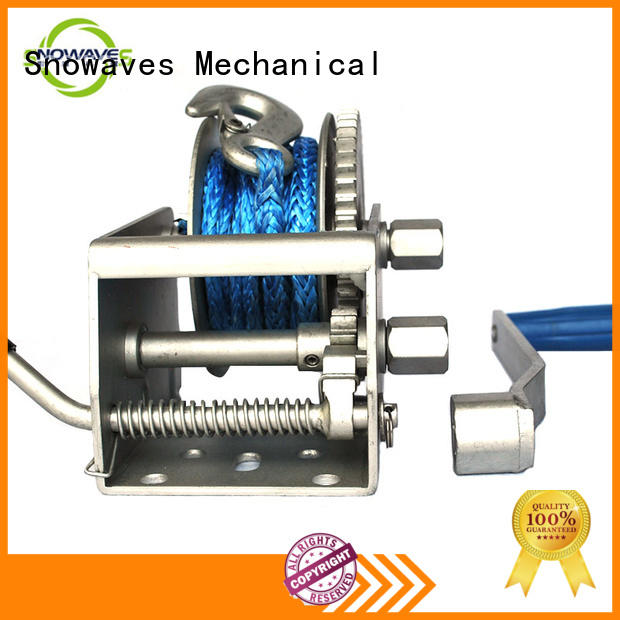 Snowaves Mechanical Best Marine winch manufacturers for camping