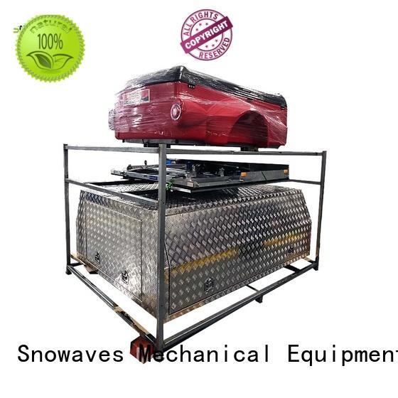 Snowaves Mechanical Brand touring aluminium custom aluminium tool boxes for caravans