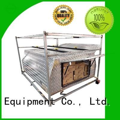 Custom aluminum trailer tool box aluminium factory for car
