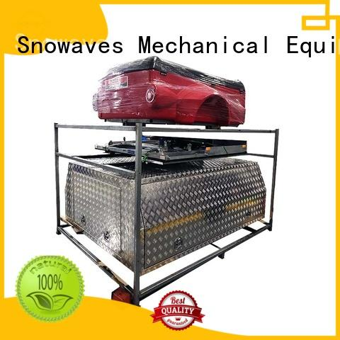 Snowaves Mechanical Best aluminum trailer tool box Supply for camping