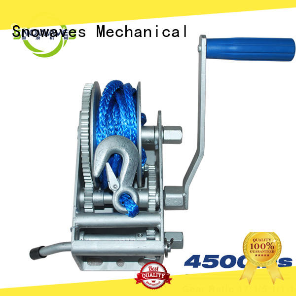 Snowaves Mechanical winch Marine winch wholesale supplier for trips