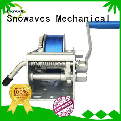 Snowaves Mechanical Best Marine winch company for camp