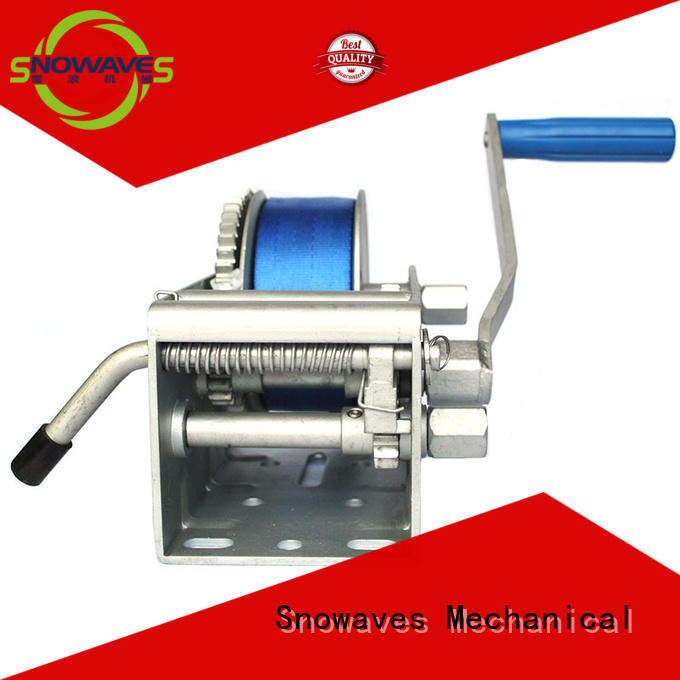 Snowaves Mechanical speed Marine winch for business for picnics
