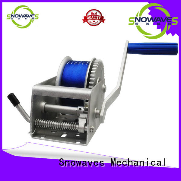 Snowaves Mechanical Marine winch long-term-use for camping