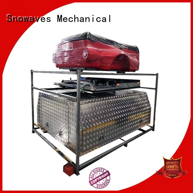 Snowaves Mechanical tool custom aluminum tool boxes for business for boat