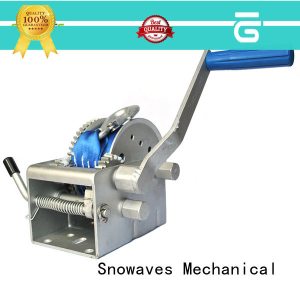 Snowaves Mechanical Latest marine winch factory for one-way trips