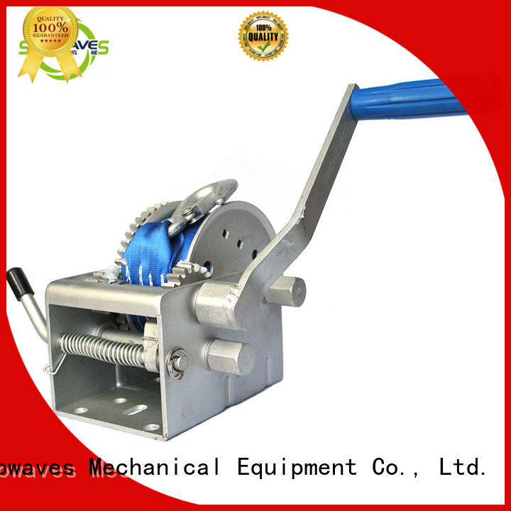 Snowaves Mechanical winch Marine winch factory for one-way trips