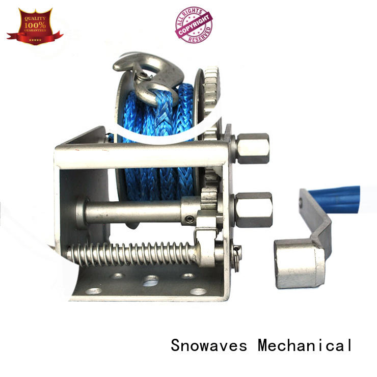 Snowaves Mechanical speed electric boat winch widely-use for one-way trips
