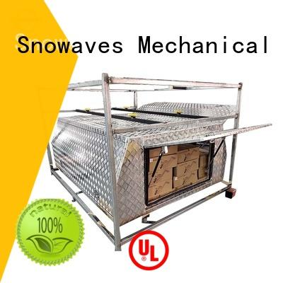 Snowaves Mechanical aluminium large aluminum tool box Chinese manufacturer for boat