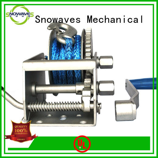 Snowaves Mechanical High-quality Marine winch factory for camp