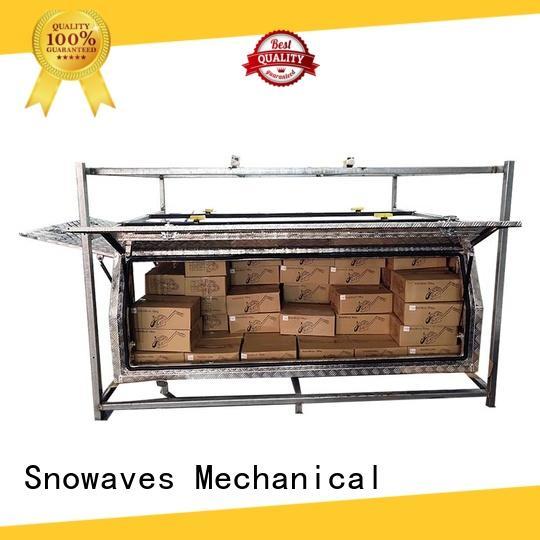 Snowaves Mechanical aluminum custom aluminum tool boxes for wholesale for picnics