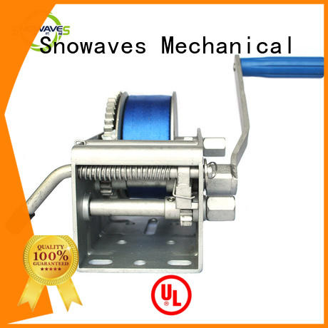 Snowaves Mechanical High-quality marine winch for business for picnics