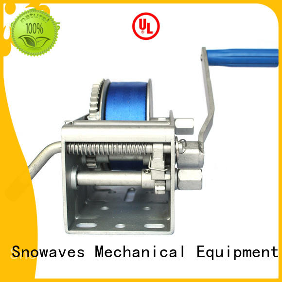 Snowaves Mechanical first-rate anchor winch for sale for trips