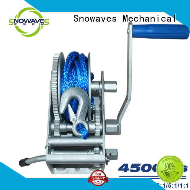 Snowaves Mechanical Wholesale marine winch suppliers for trips