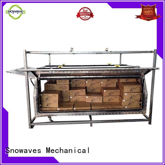 Snowaves Mechanical box aluminium tool box for business for picnics
