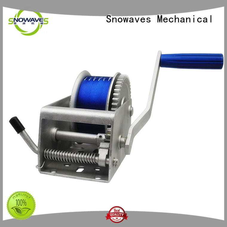 Snowaves Mechanical durable anchor winch for sale long-term-use for camping