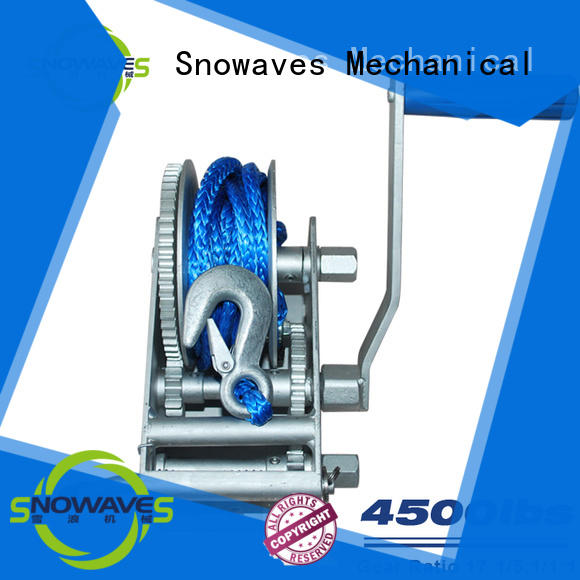 Snowaves Mechanical Top Marine winch company for picnics