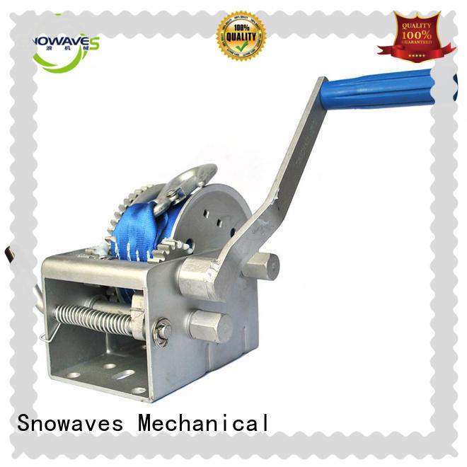 Marine winch single for camp Snowaves Mechanical