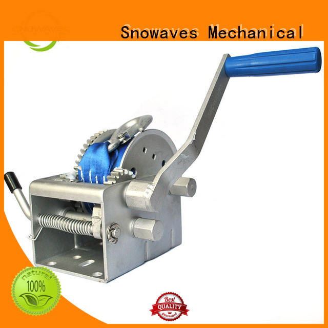 Snowaves Mechanical winch Marine winch Supply for one-way trips