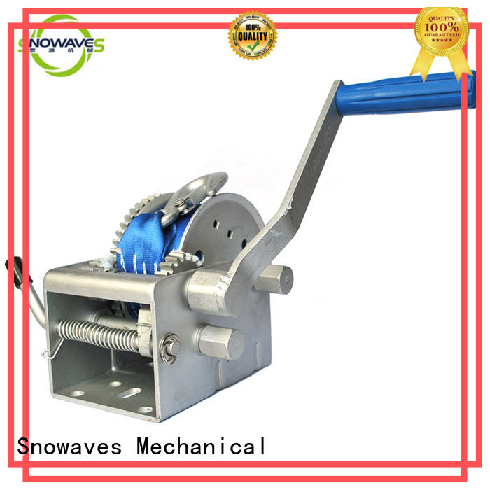 Snowaves Mechanical useful anchor winch for sale widely-use for camping