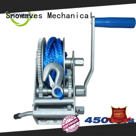 Snowaves Mechanical New Marine winch Supply for picnics