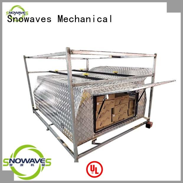 aluminum toolboxes Chinese producer for picnics Snowaves Mechanical