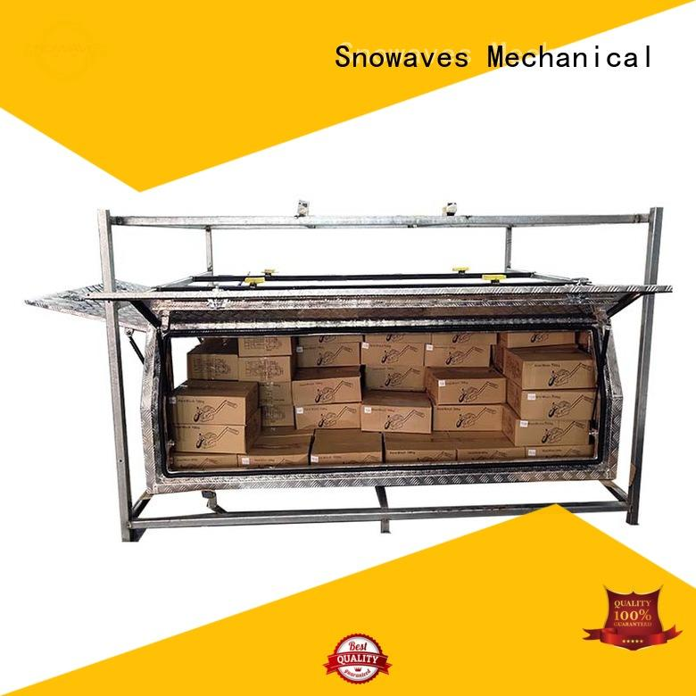 Snowaves Mechanical box large aluminum tool box Chinese manufacturer for car