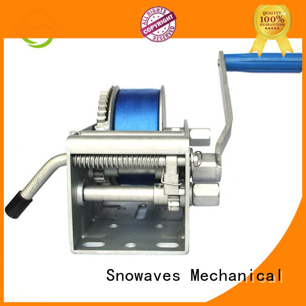 Snowaves Mechanical pulling Marine winch Supply for trips