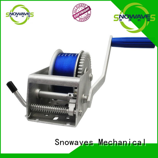 Wholesale Marine winch trailer factory for camping