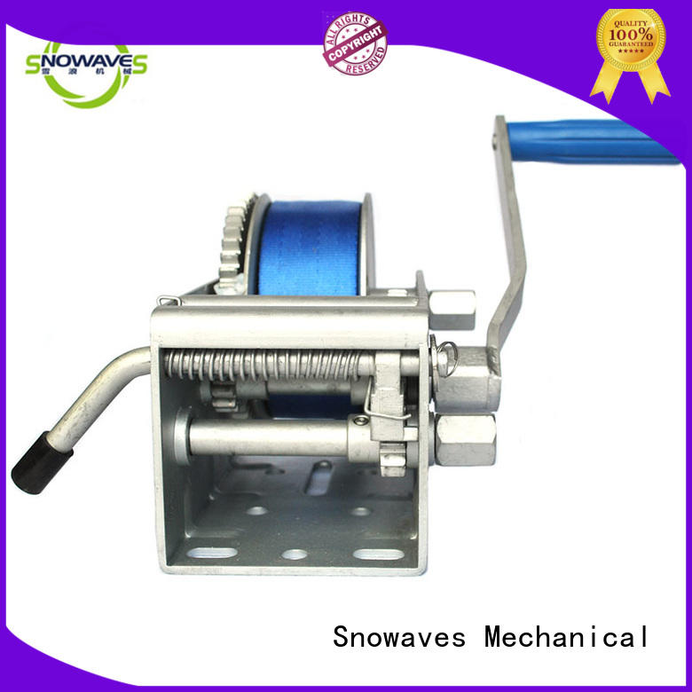 Snowaves Mechanical Wholesale marine winch manufacturers for picnics