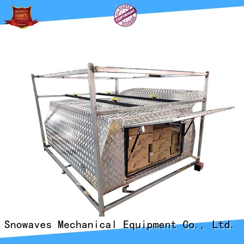 Snowaves Mechanical New aluminum truck tool boxes for sale for camping